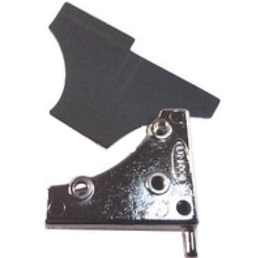 Петля-фиксатор стекла Unox верхний KCR1085A (VM1230A)